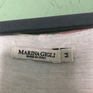 Marina Gigli Tops - Marina Gigli 100% Silk Blouse Made in Italy M